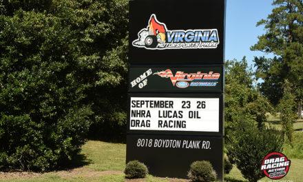 Virginia Motorsport Park Hosts NHRA D1 Doubleheader