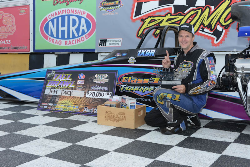 JEFF DUCK WITH A $20K WIN